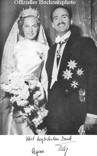 The matrimony of TIRH Archduke Otto and Archduchess Regina